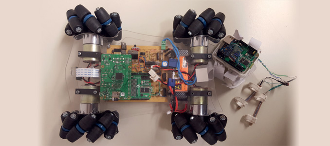 Omnidirectional Robot using Internet of Things (IoT)