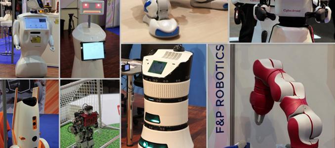 robots e cobots em Paris