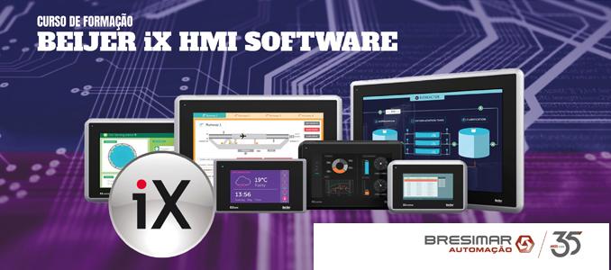 curso de formação iX HMI SOFTWARE na Bresimar Automação