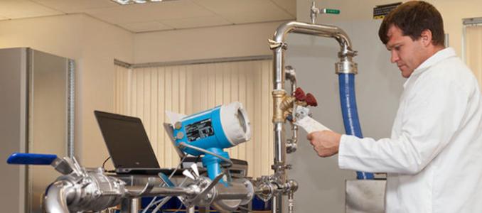 Calibração e verificação otimizadas na indústria alimentar