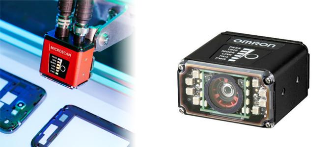 Omron introduziu sistemas Microscan