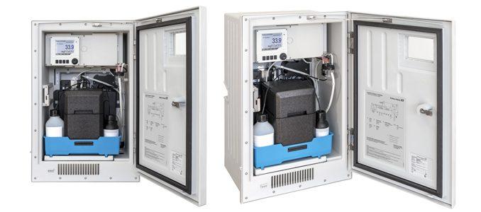 Endress+Hauser: sistema colorimétrico CA80HA: analisador de dureza da água