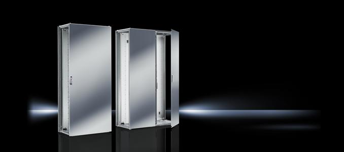 VX25 aço inoxidável e NEMA 4X na Rittal