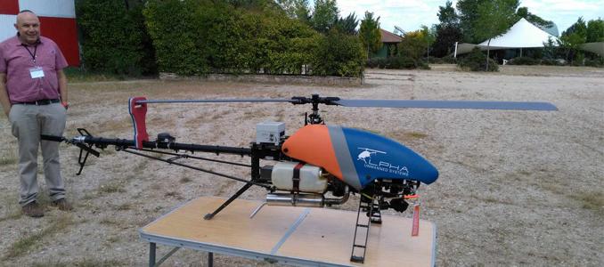Frotas de drones no controlo de desastres naturais