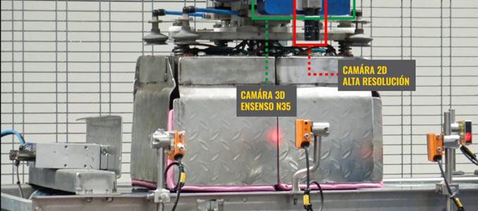 INFAIMON: controlo de paletização com sistemas de visão artificial em 3D