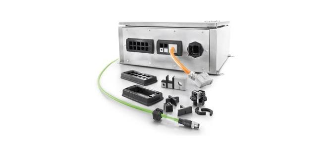 Weidmüller: novo sistema modular de entrada de cabos