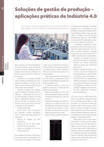 Soluções de gestão de produção