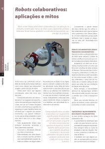 Artigo sobre robots colaborativos
