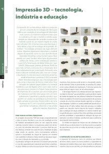 Artigo sobre Impressão 3D