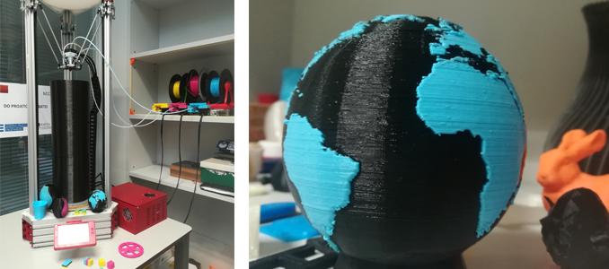 Impressoras 3D FDM tipo Delta