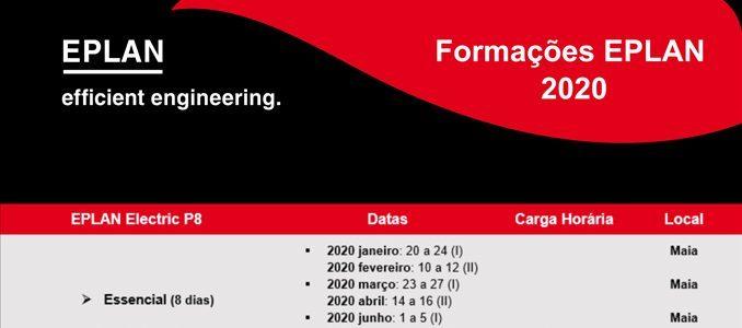 M&M Engenharia Industrial: formações EPLAN para 2020