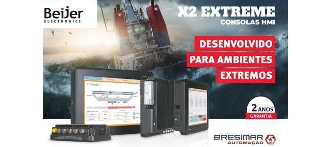 Consolas X2 extreme da Beijer na Bresimar Automação