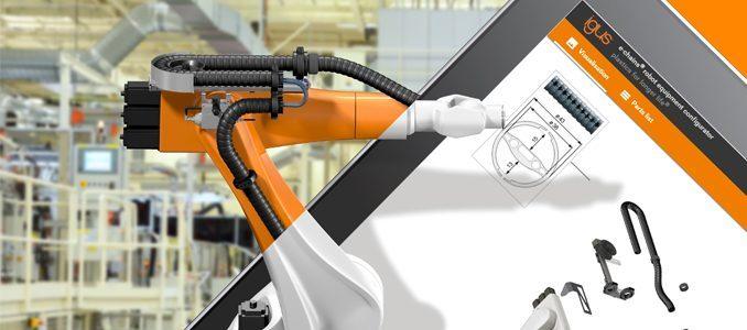 igus: encontre online o sistema de calhas articuladas certo para 400 tipos de robots