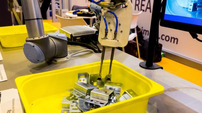 Supervisão e robótica na indústria