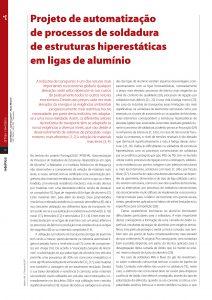 artigo sobre automatização de processos de soldadura