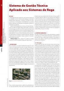 artigo sobre Sistema de Gestão Técnica Aplicado aos Sistemas de Rega