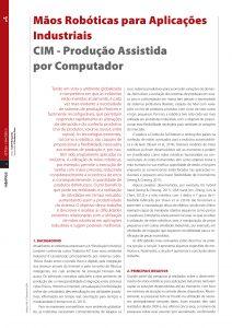 artigo sobre Mãos Robóticas para Aplicações Industriais
