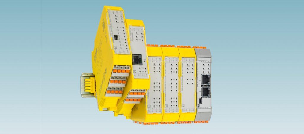 Phoenix Contact: sistema de segurança configurável PSRmodular
