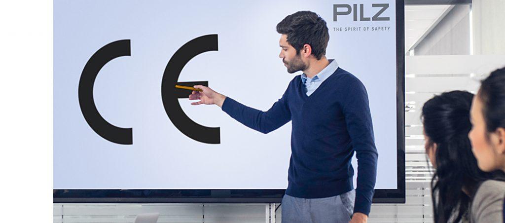 Pilz forma especialistas em marcação CE