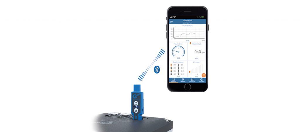 NORD Drivesystems: assistência através da aplicação para utilização móvel