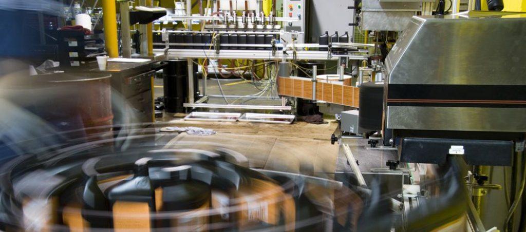 Máquinas e linhas de produção