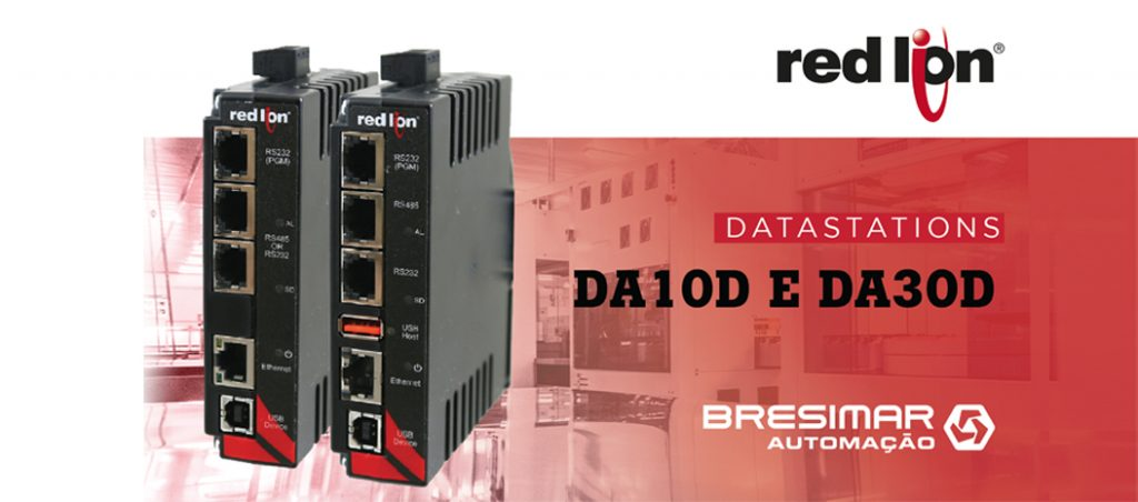 Bresimar Automação: conetividade robusta através dos Data Stations DA10D e DA30D da RedLion