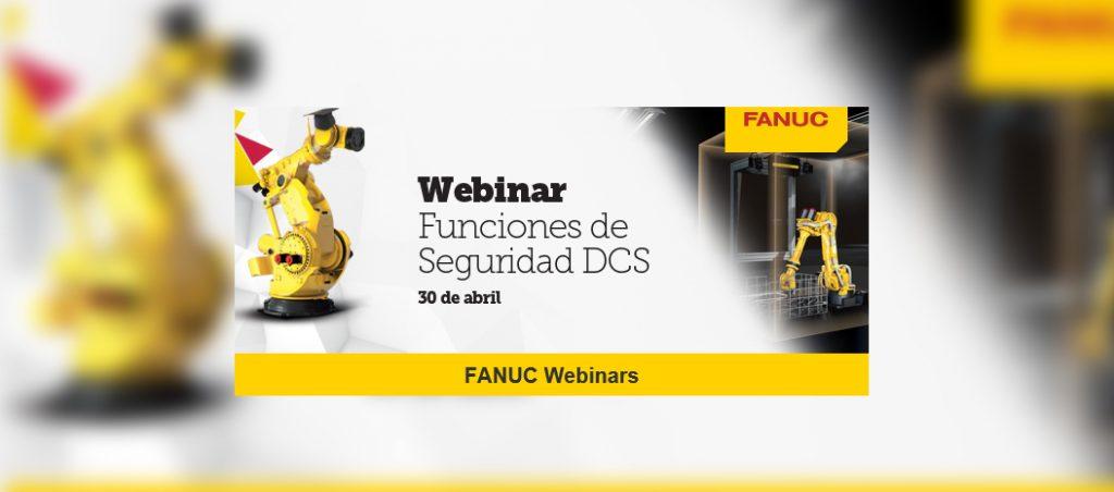 """Fanuc organiza webinar gratuito sobre """"Funções de Segurança DCS"""""""