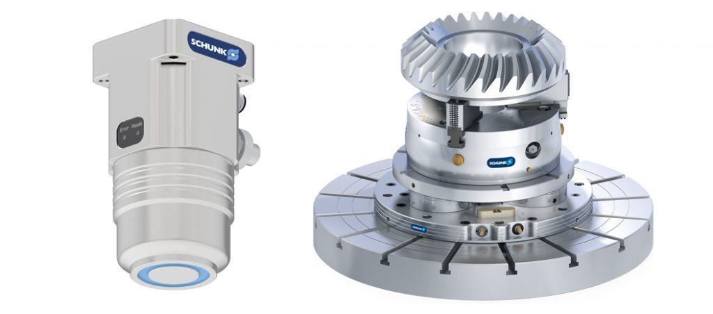SCHUNK apresenta a pinça magnética EMH 24V e o VERO-S NSL plus