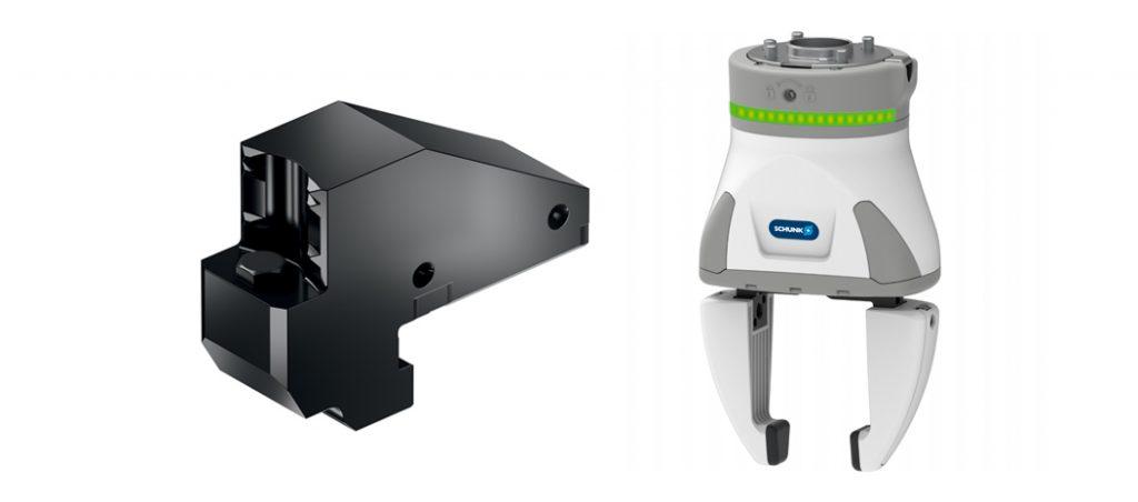 SCHUNK inova com a integração de novos lançamentos em clamping e gripping