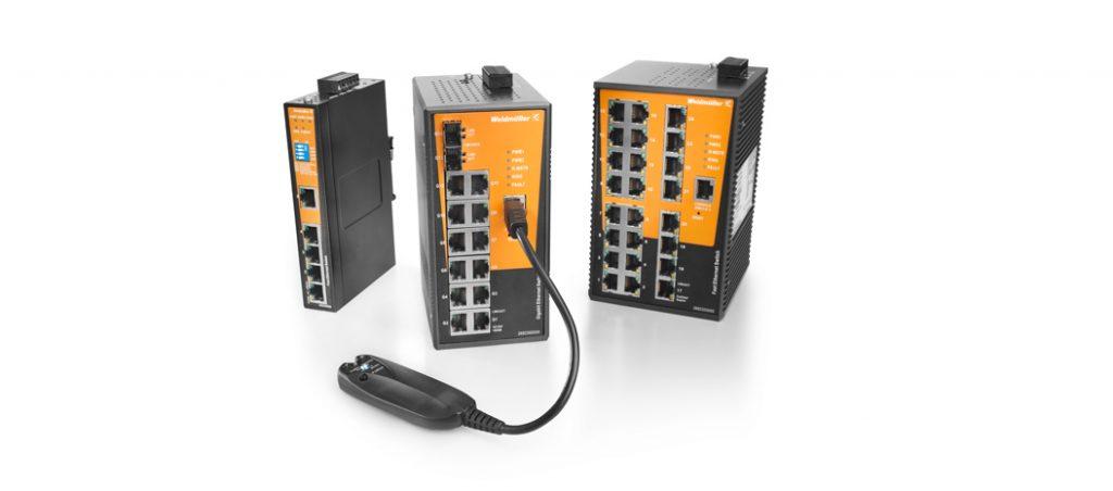 Weidmüller apresenta novos switches Advanced Line