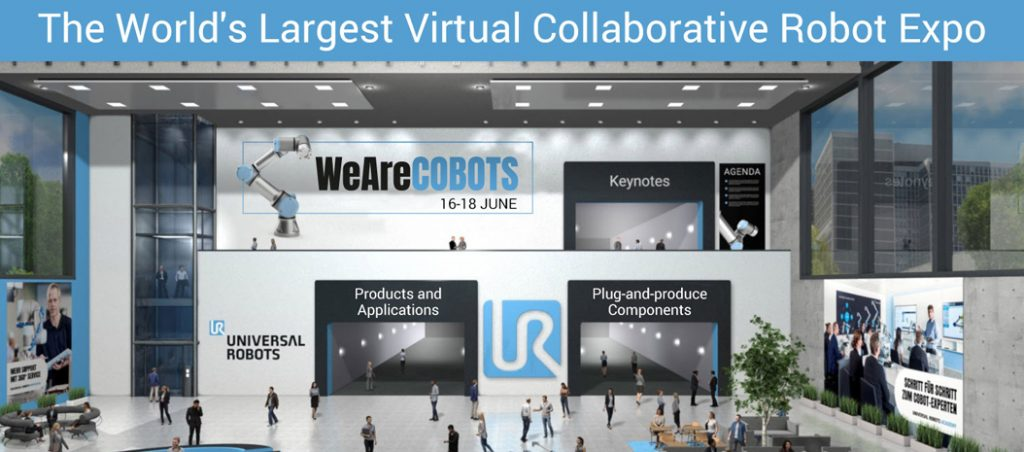 É já amanhã! Universal Robots realiza a maior feira virtual de robots colaborativos do mundo