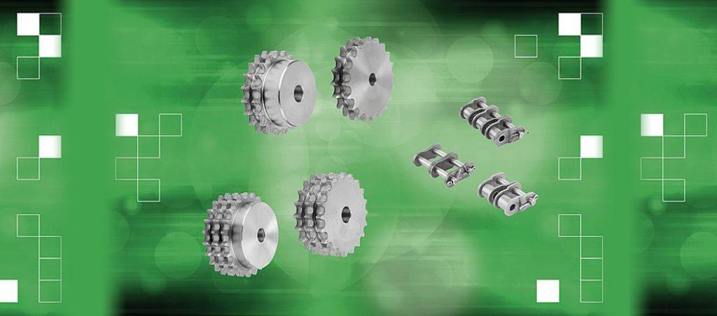 Novas correntes de rolos e coroas da norelem ajudam a aumentar o desempenho de acionamentos de correntes industriais