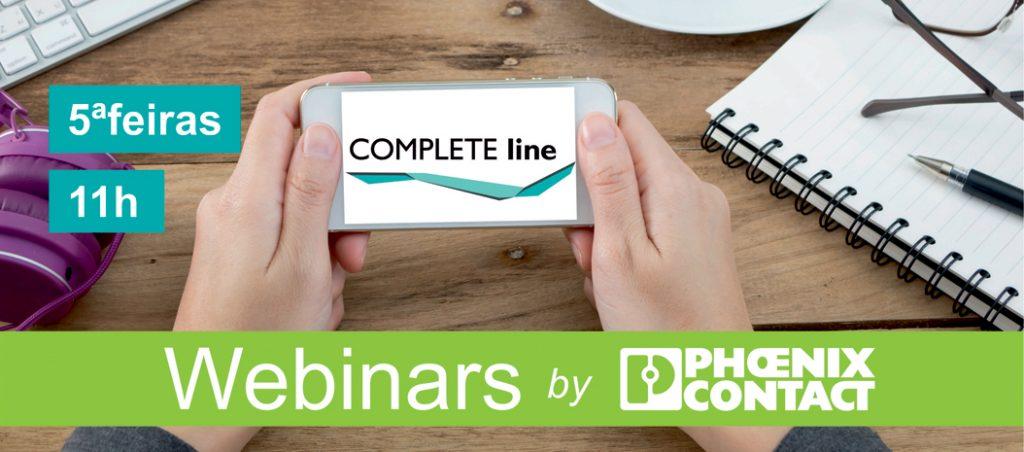 Phoenix Contact: webinars gratuitos – COMPLETE line