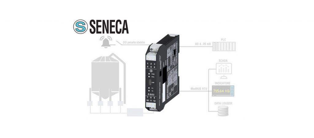 PROSISTAV: Seneca – conversor avançado para células de carga