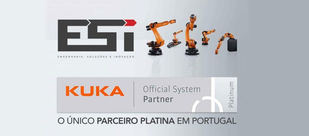"ESI distinguida como ""KUKA Platinum System Partner"""