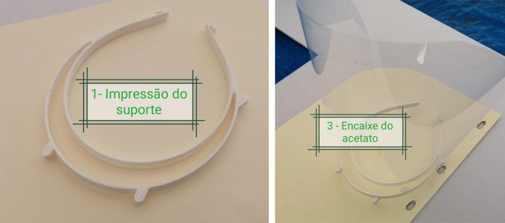 Impressoras 3D ao serviço da proteção contra a Covid-19
