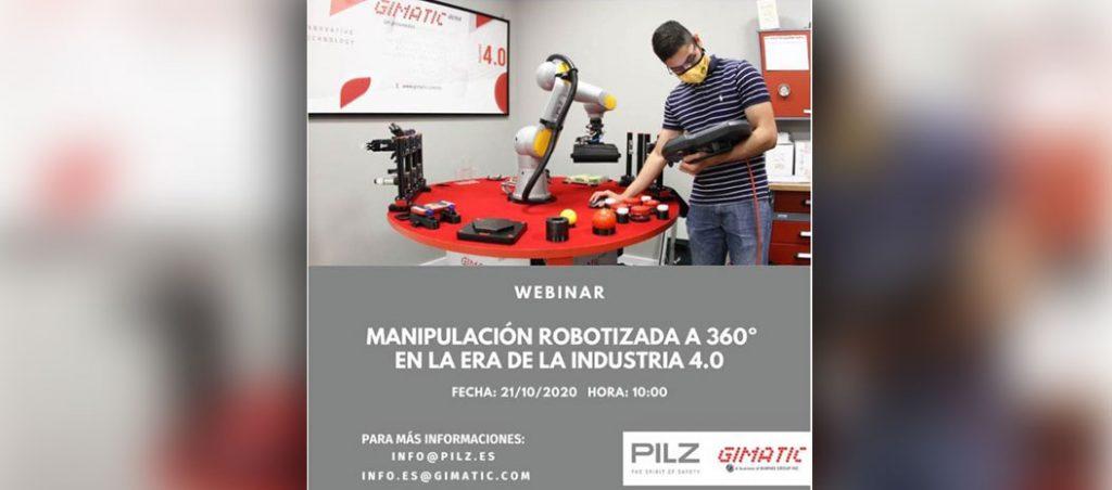 """Webinar """"Soluções de manuseamento de robots na era da Indústria 4.0"""""""