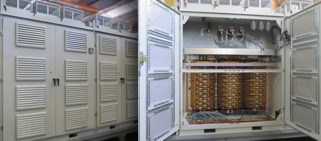 WEG Portugal fabricou o seu primeiro variador de frequência de Média Tensão (MVW3000)