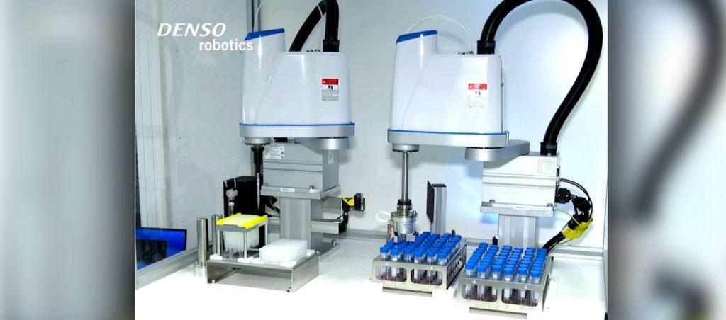 Robot LPH-040: automatização dos testes ao Covid-19