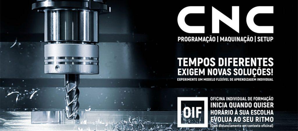 CENFIM promove formação em CNC ao seu ritmo