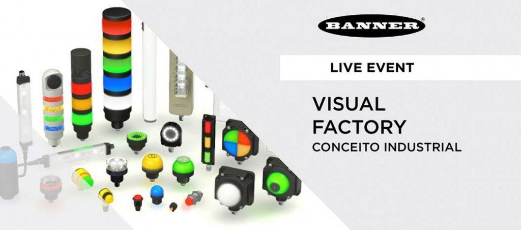 Live event da Bresimar Automação: Conceito Industrial de VISUAL FACTORY