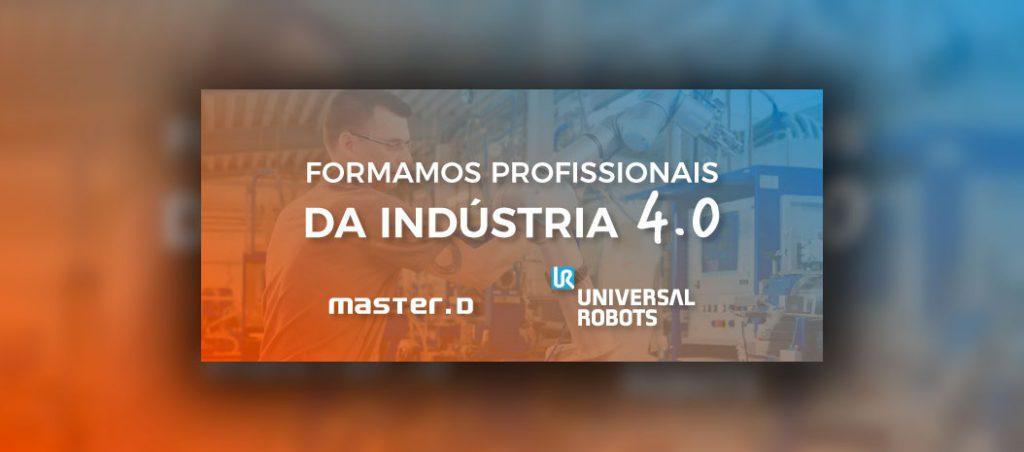 Master D e Universal Robots promovem a formação em robótica colaborativa