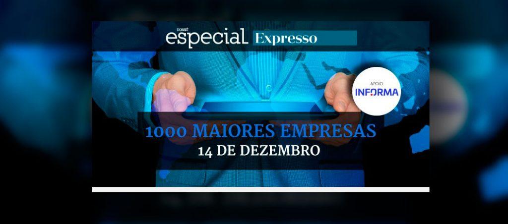 WEG no ranking das 1000 Maiores Empresas em Portugal