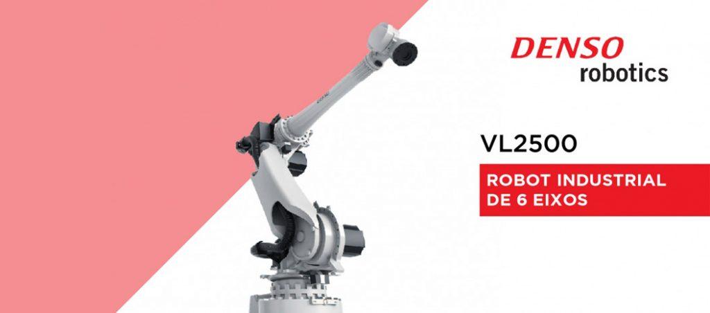 VL2500 da DENSO Robotics: robot de 6 eixos