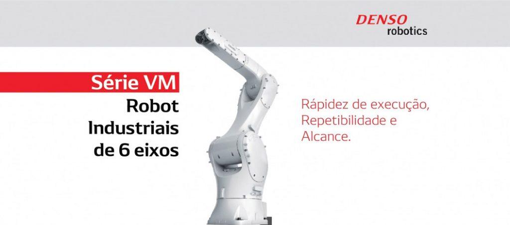 VM da DENSO Robotics: série de robots de 6 eixos