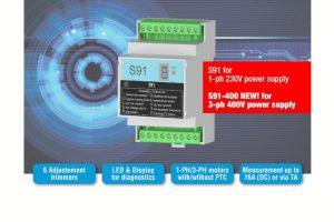 Novo relé de multiproteção S91 da Seneca