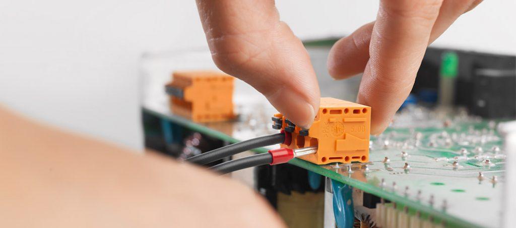 Terminais PCB OMNIMATE® Data Ethernet