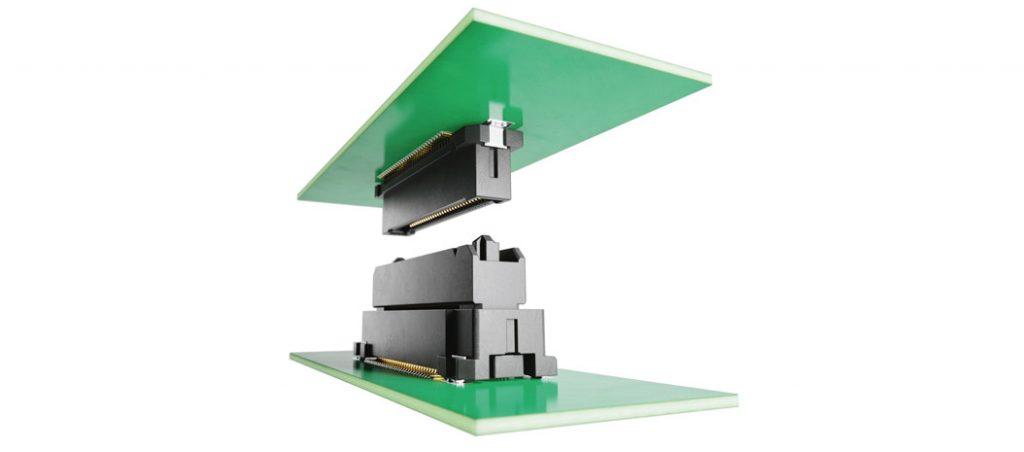 Flexibilidade na conceção conector AX01 placa-placa da JAE